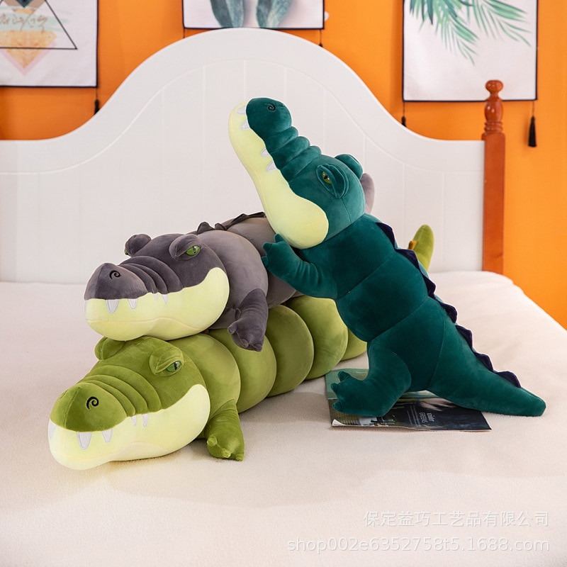 colorful cute caterpillar big insect plush toys doll with pp cotton stuffed animal pillow for children adult gifts Soft Simulation Cute Crocodile Plush Toys Stuffed Animal Big Kids Children Boys Girls Lovely Pillow for Birthday Gifts