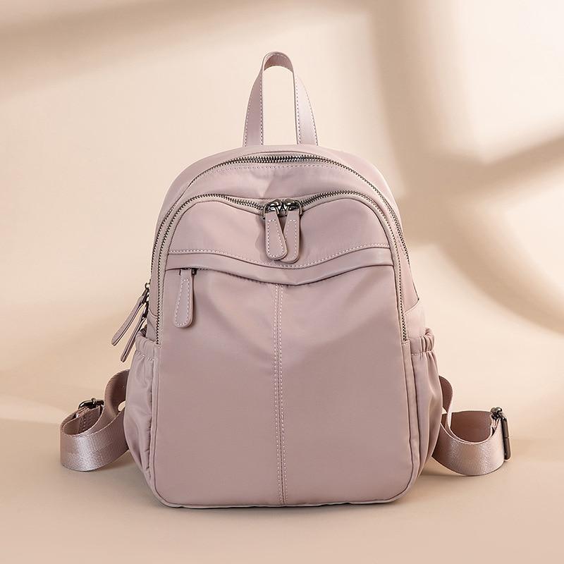 أكسفورد القماش على ظهره المرأة 2021 موضة جديدة كل مباراة حقيبة قماش قنب على ظهره الإناث السفر حقائب صغيرة