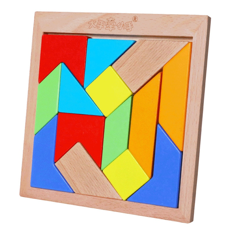 Kids 3D Building Block Jigsaw Puzzle Mother And Baby Elementary Adult Jigsaw Puzzle Educational Toy