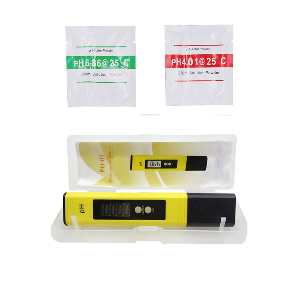 Portable Ph Acidity Meter high precision 0.01 Digital LCD Aquarium Water Acid PH meter Pool Analyzer