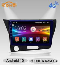 CR-Z/CRZ Android 10.0 lecteur multimédia Navegador 8 cœurs Auto Radio Android pour Honda CR-Z/CRZ