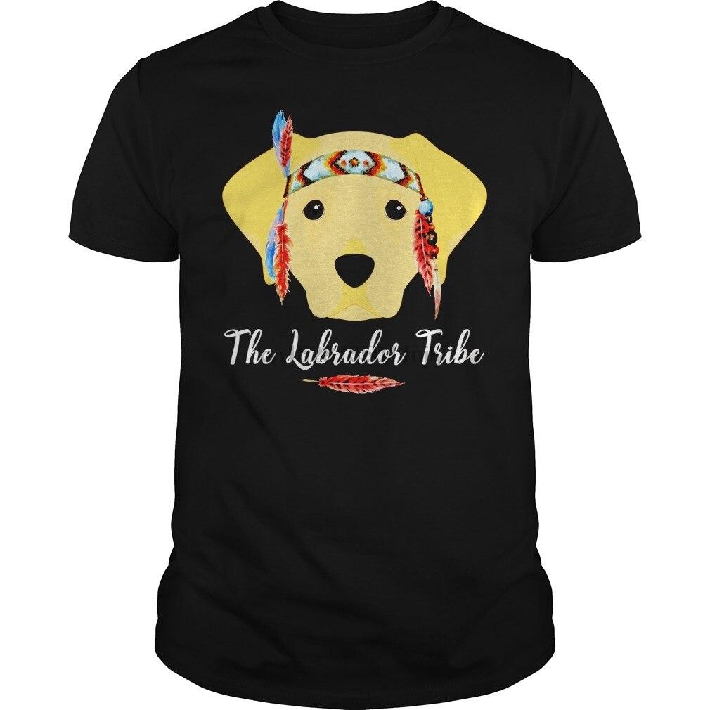 Camiseta de hombre Labrador Retriever tribal Labrador amante novedad camiseta negra juvenil B076KTQ8YQ 1 camiseta estampada cool tees top