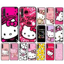 Милый чехол для телефона MaiYaCa Kawaii Hello Kitty для Huawei P10 20 30 40 lite pro Psmart2019 Mate 10 20 lite pro