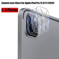 Прозрачное закаленное стекло для объектива задней камеры Apple iPad Pro 11 2021, защитная пленка для экрана для Apple iPad Pro 12,9, 2020
