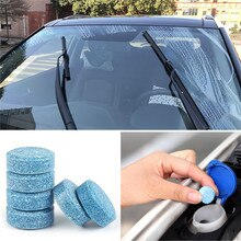 6pcs Car Window Cleaning Effervescent tablets For Chevrolet Cruze Aveo Lacetti Captiva Cruz Niva Spark Orlando Epica Sail So