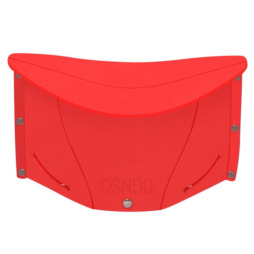 Taburete plegable para Picnic asiento de Exterior Interior cola de espera portátil ligero PP viaje Mini sillas de pesca Camping ergonómico