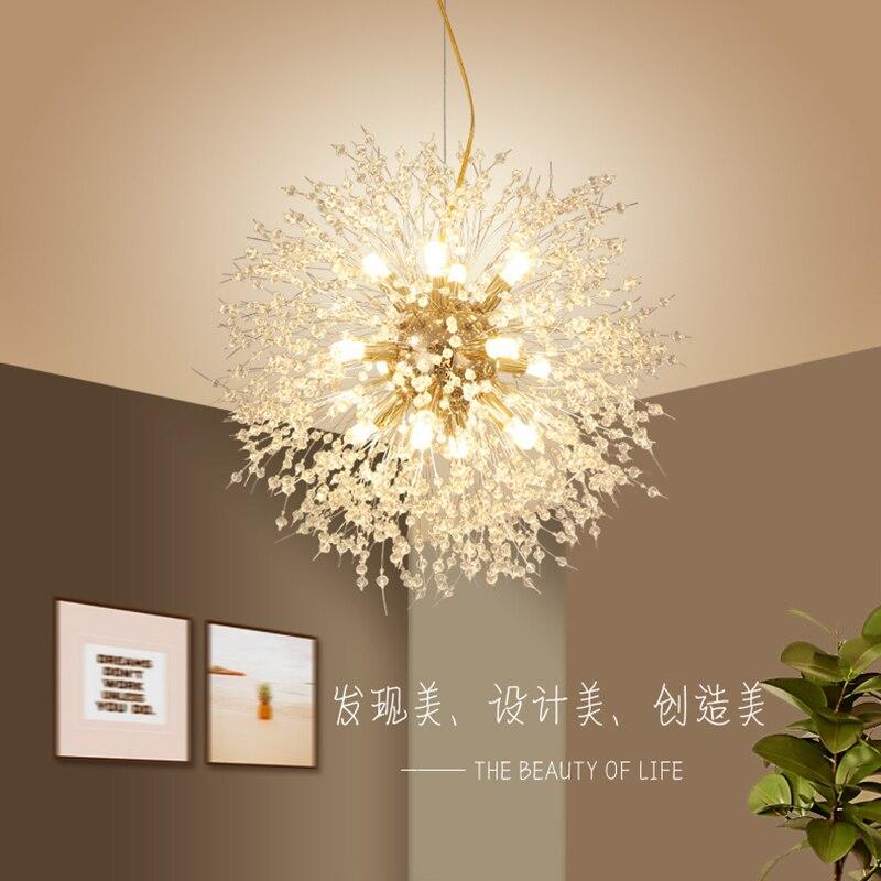 الثريات الحديثة G4 LED لمبات الصناعية خمر Orb تركيبات رومانسية ودافئة الإنارة الطعام غرفة المعيشة مطعم أضواء