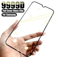 9D Protective Glass For Samsung Galaxy A02 A12 A32 A42 A52 A72 F41 F62 Screen Protector Glass M02 M12 A01 A51 A71 Tempered Glass