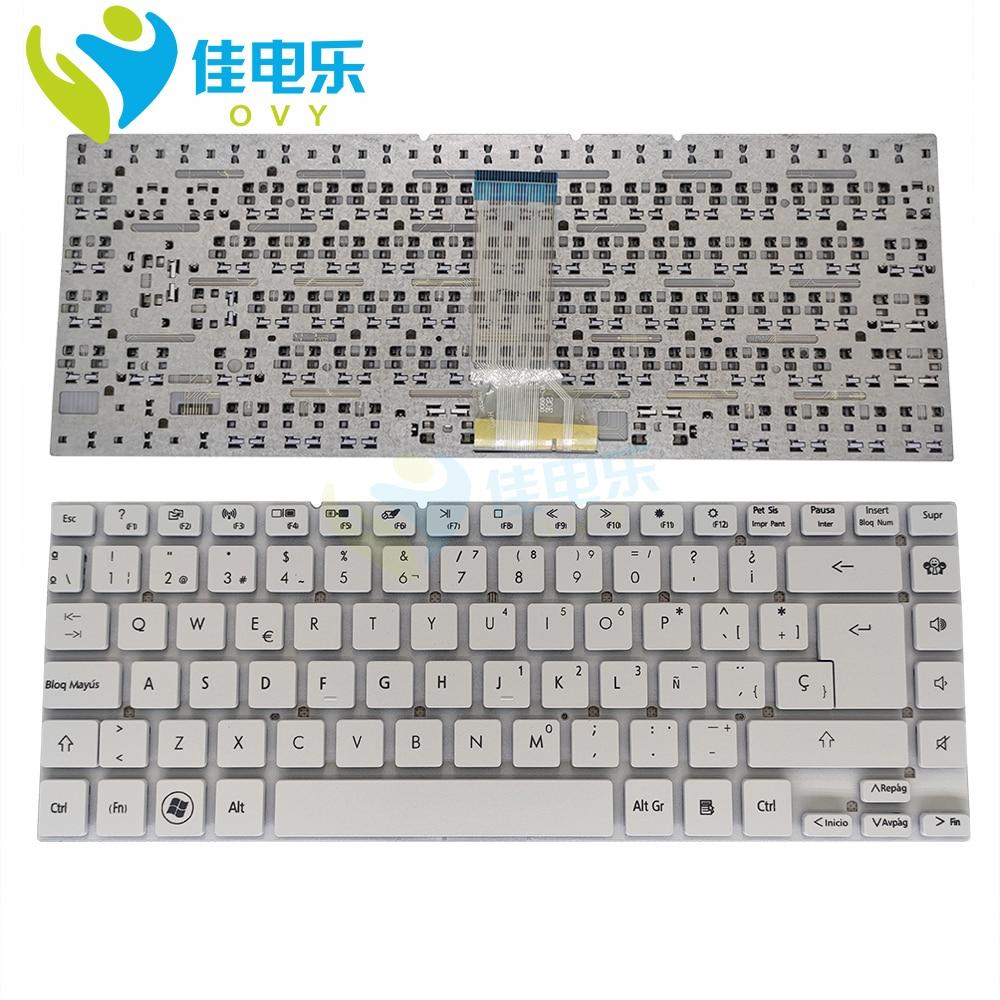 لوحة مفاتيح بديلة لبوابة NV47 و NV47H و NV47H04C ، لوحة مفاتيح إسبانية لأجهزة الكمبيوتر المحمولة ، إدخال كبير ، جودة جيدة ، جديد