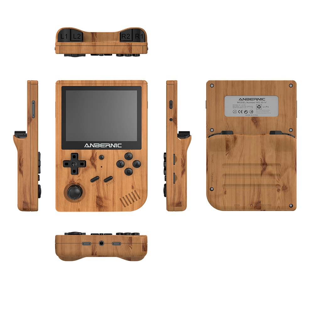Retro Games Built-in 16G Open Source 3.5 INCH 640*480 Retro Mini Handheld Game Player Game For PS1 kid Gift