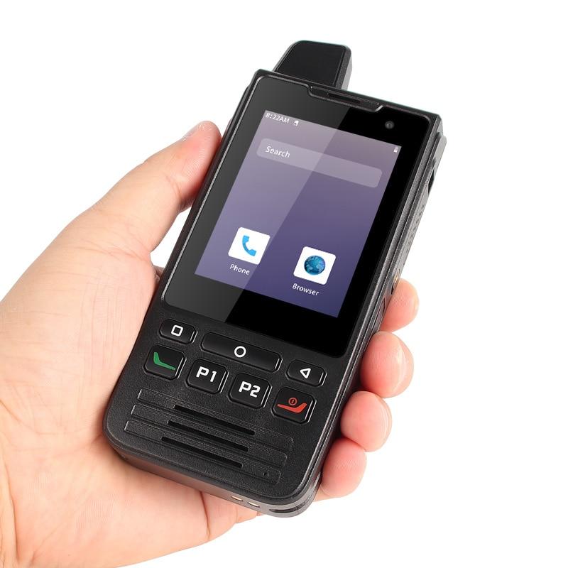 Zello-هاتف ذكي يعمل بنظام Android 9.0 ، وهاتف ذكي 4G ، وذاكرة وصول عشوائي 1 جيجابايت ، وذاكرة قراءة فقط 8 جيجابايت ، و IP68 PTT ، وشاشة تعمل باللمس ، وراديو FM...