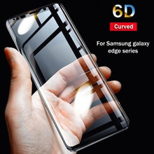 6D Full Curved 5D Tempered Glass For Samsung Galaxy S8 S9 Plus 3D Screen Protector Film S6 S7 Edge A