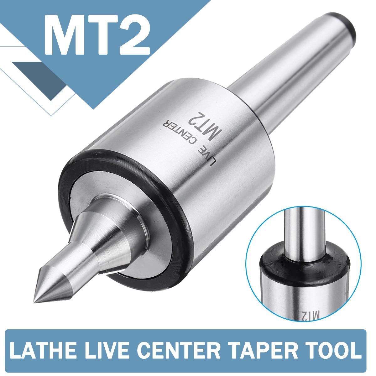 MT2 0,001 Genauigkeit 5000rpm Max Stahl Drehmaschine Live Zentrum Kegel Tool Triple Lager CNC Live Dreh Fräsen Center Kegel maschine