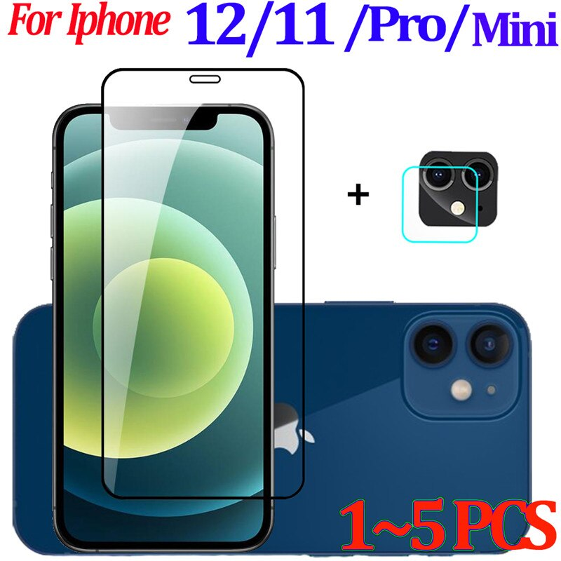 Para iPhone 12 Mini Cámara+ Protective Glass iPhone 12 Pro Max Protector...