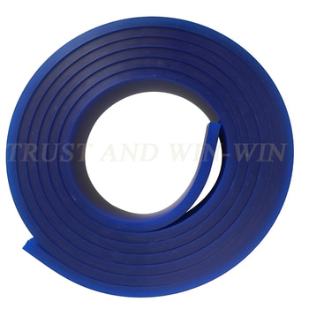 HotSale! Screen Printing Flat Squeegee Rubber,Blue Color 85A Durometer