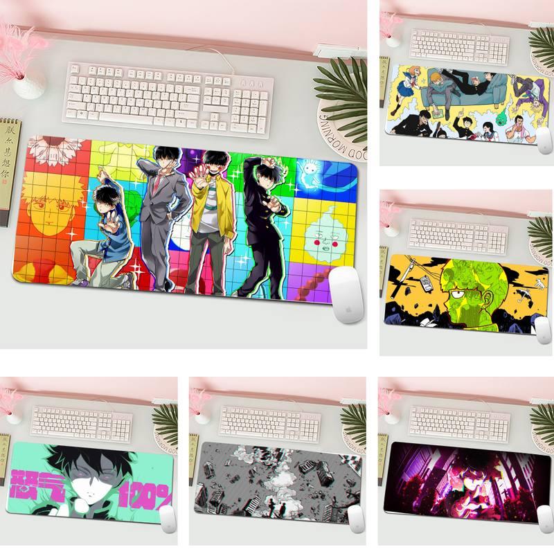 Mob Psycho 100 DIY Design Pattern Game mousepad L Large Gamer Keyboard PC Desk Mat Computer Tablet Gaming Mouse Pad