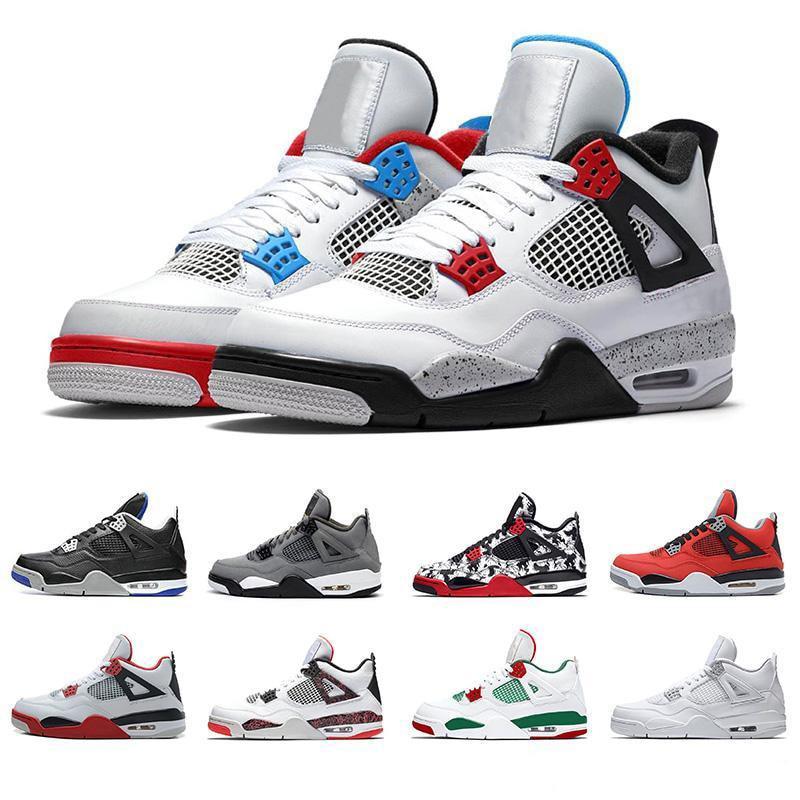 Zapatillas de deporte Zapatillas de baloncesto 4 Retro para hombre y calzado...
