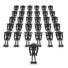 Vente en vrac 200 pièces/lot Star Wars Super bataille droïde Figure noir Starwars modèle ensemble blocs de construction kits brique jouets pour enfants