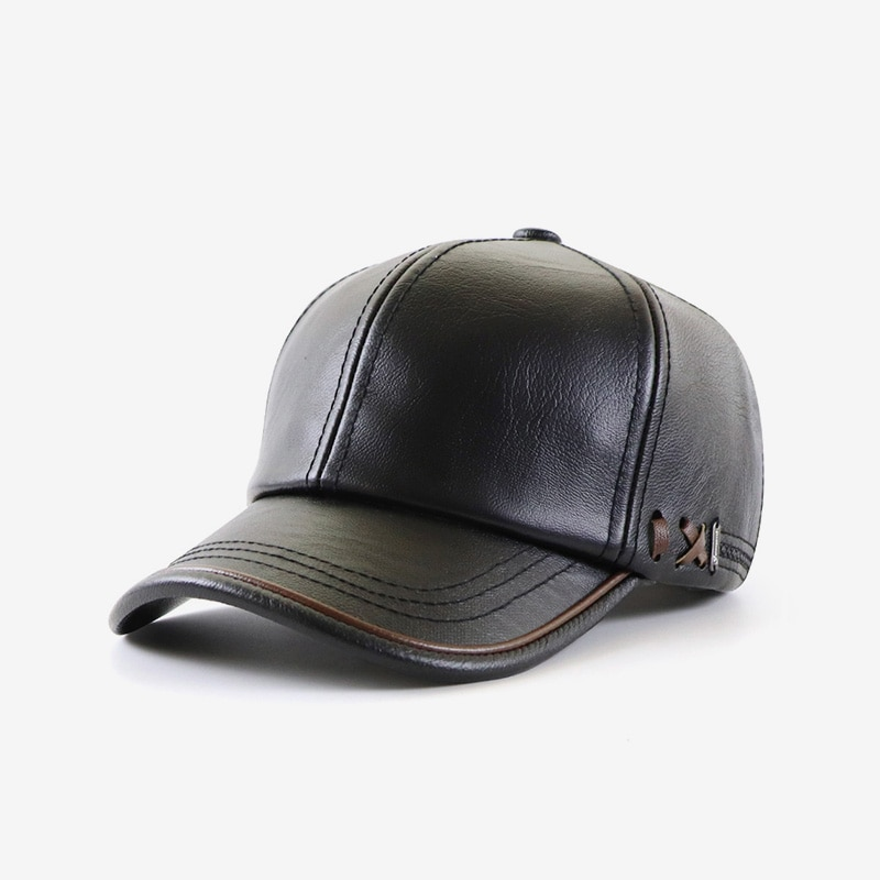 Autumn And Winter Hat New Style Plus Velvet Warm Men's Outdoor Baseball Cap Middle-Aged And Old Fash