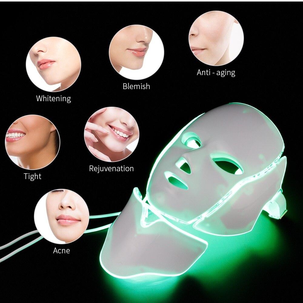 VIP 7 color LED Mask