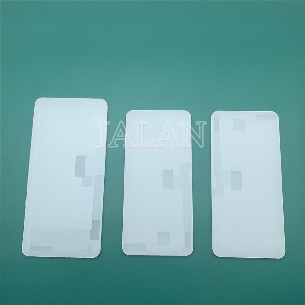Para iphone X XS MAX pantalla táctil LCD estera de goma laminada piezas de reparación de teléfono móvil pegamento limpieza goma separada