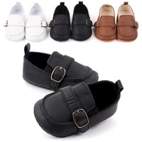 new 3 colors baby shoes leather moccasin infant footwears black shoes for newborn leather baby boy shoes pu leather prewalkers