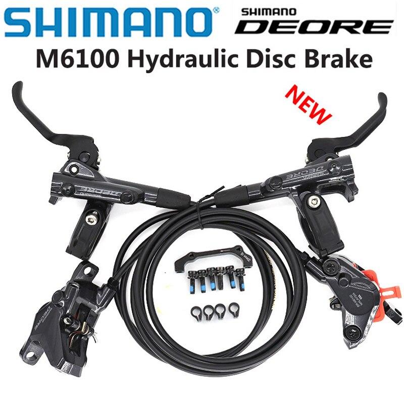 جديد شيمانو DEORE M6100 2 المكبس M6120 4 مكبس الفرامل دراجة جبلية ام تي بي الصحن الهيدروليكي الفرامل ام تي بي BR BL-M6100 DEORE
