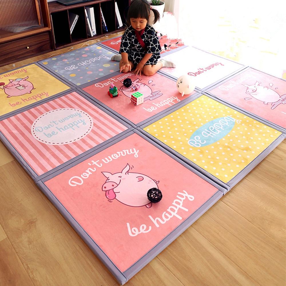 grand tapis de dessin anime pour chambre de bebe tatami epais et mignon