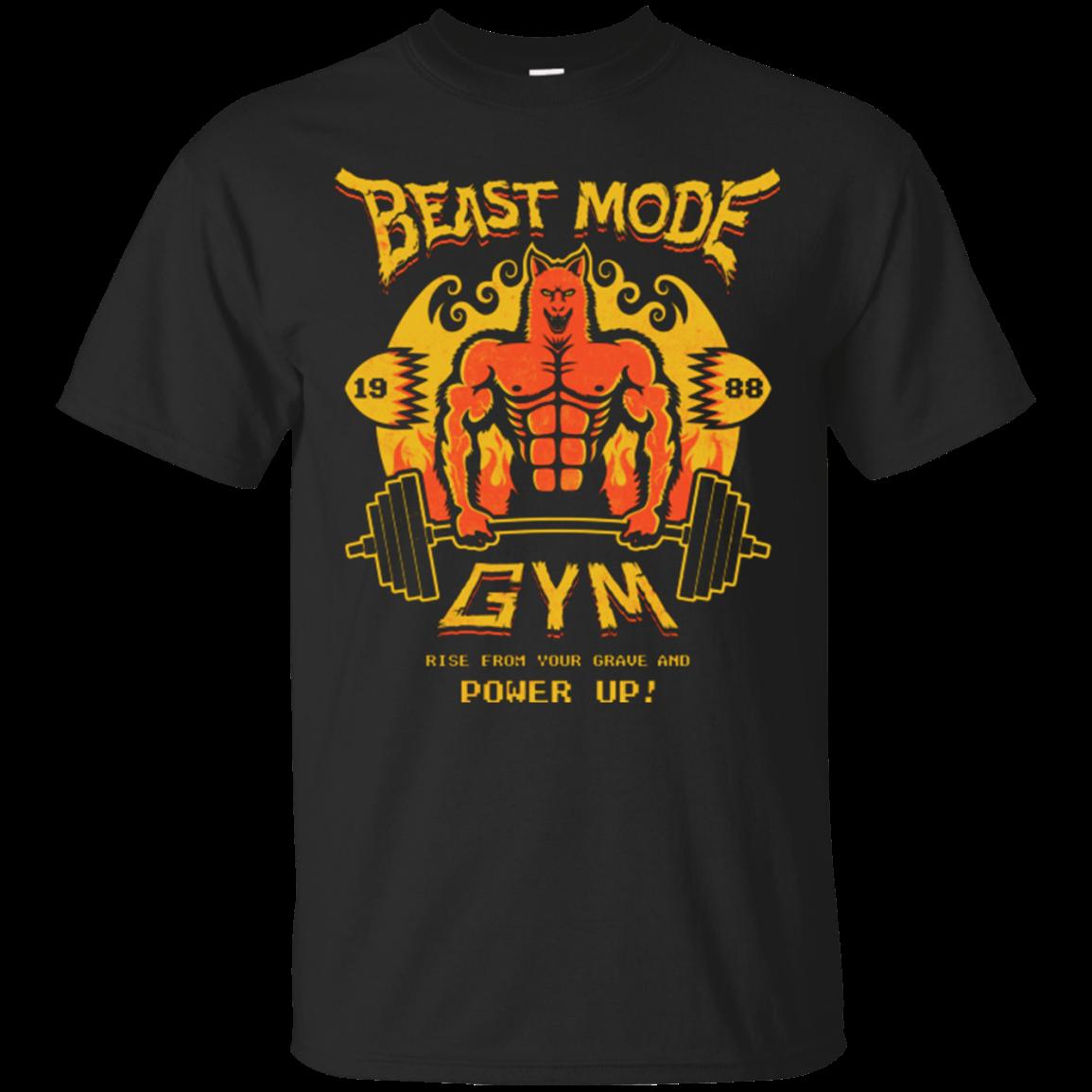 Camiseta estampada de algodón para hombre, camiseta de manga corta con cuello redondo para gimnasio