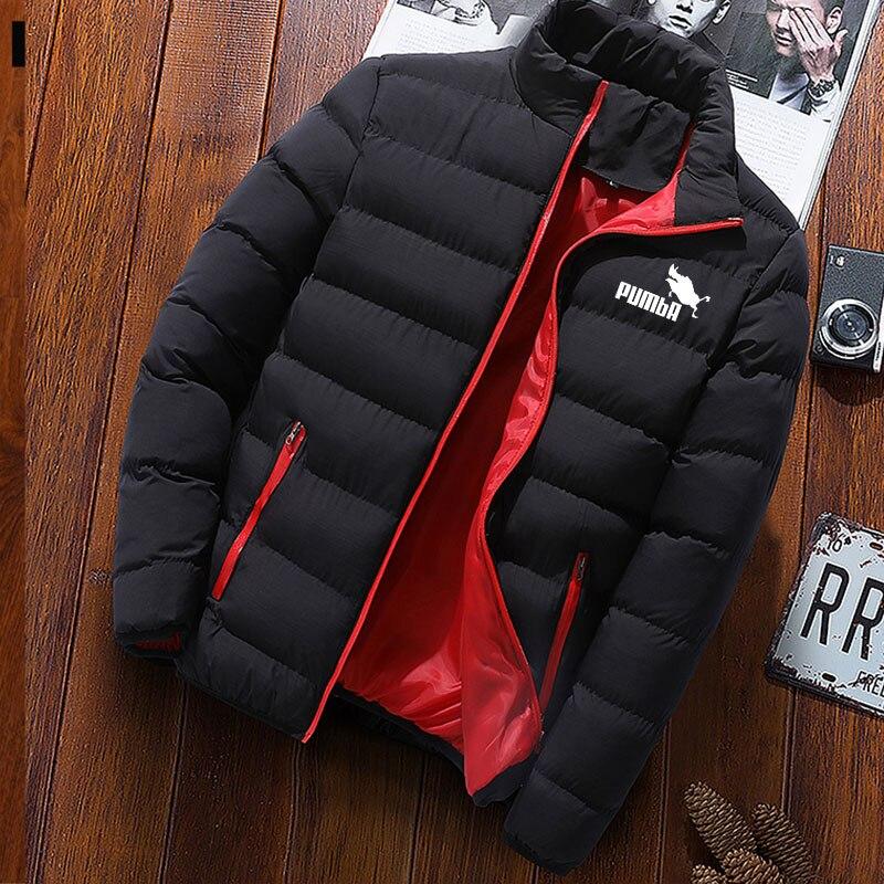 Мужская хлопковая куртка бейсбольная куртка ветровка на молнии ветровка с подкладкой плюшевая куртка Мужское пальто мужская одежда