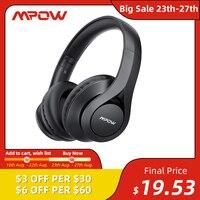 Беспроводные наушники Mpow 059 Pro/Lite, Bluetooth 5,0, Звук Hi-Fi, стерео, шумоподавление CVC 6,0, для сотовых телефонов, ПК