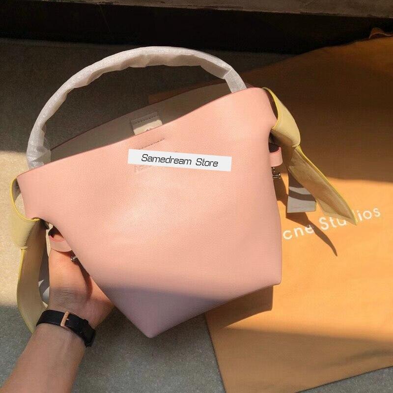 ماكرون اللون مطابقة حقائب النساء جودة عالية جلد طبيعي حقيبة سيدة الموضة