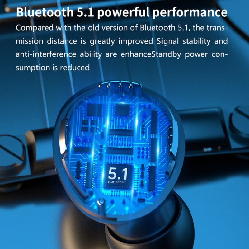 New Private Model TWS Bluetooth Headset Wireless Binaural Sports Mini Waterproof OEM in-Ear 5.1 enlarge
