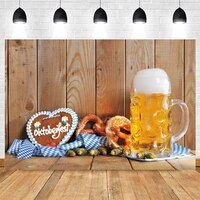 oktoberfest photocall wood board party decor photography backdrop bread photographic background baby portrait photo studio prop