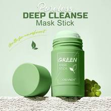 Poreless Deep Cleanse Mask Stick Natural Ingredients Moisturizing Control Oil Green Tea Solid Cleans
