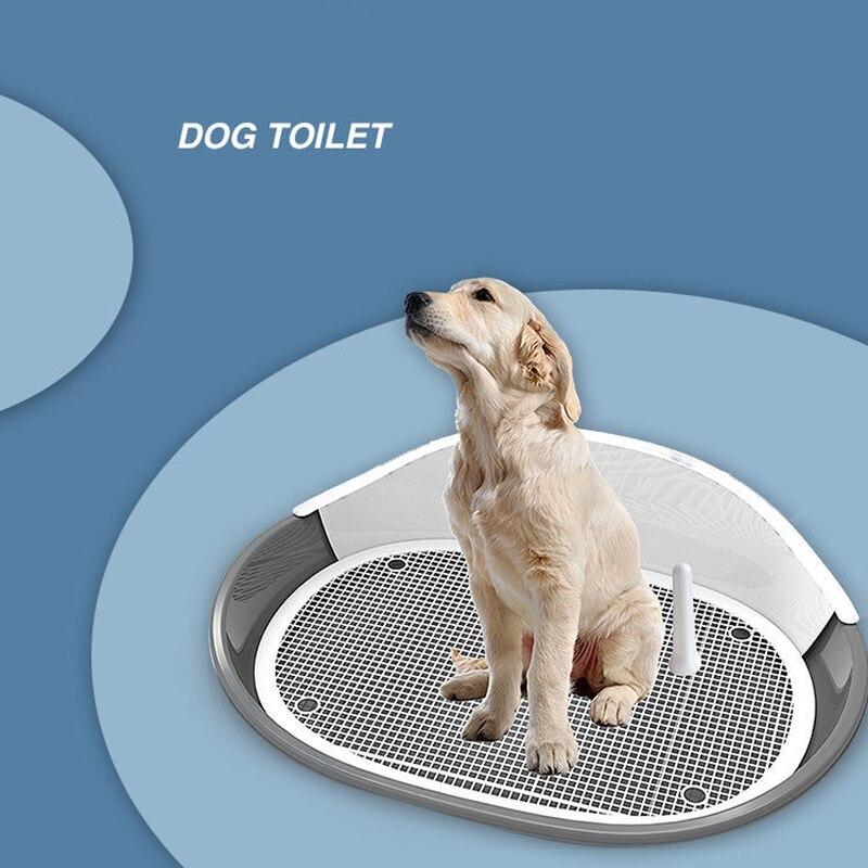 Туалет для собак большого размера, поднос для туалета, поднос для щенков, туалет для обучения, легко чистить, туалет для домашних животных, т...