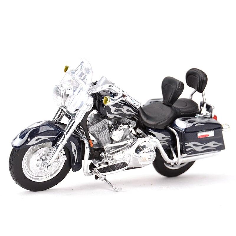 Maisto 118 2002 flhrsei cvo personalizado diecast liga motocicleta modelo de brinquedo