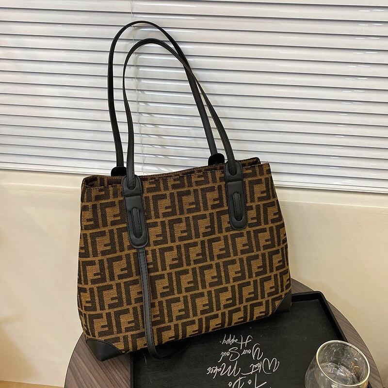 Large Capacity Casual Tote Handbags Women Shoulder Bags 2021 New Brand Design LadiesFemale Purses and hand bags Luxury Designer