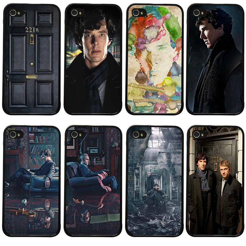 ¡Oferta! Carcasas de plástico duro para iphone 8 7 6 6S Plus X XR XS 11 Pro Max 5S 5 SE 4 4S Sherlock Holmes