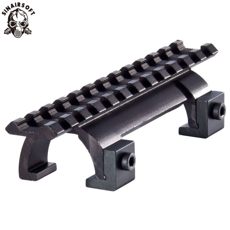 SINAIRSOFT Style MP5 MK5 HK G3 GSG5 Claw Scope Mount For Airsoft Paintball Hunting Rifle Picatinny Weaver Rail Handguard new rifle flat top folding carry handle for picatinny weaver rail 21mm m60 style black