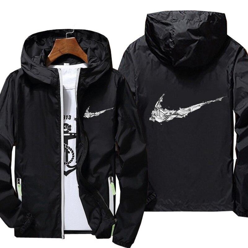Customizable Men's New Baseball Jacket Sports Thin Jacket Jackets Harajuku Coats Windbreaker Man Trench Coat Clothing Hoodies