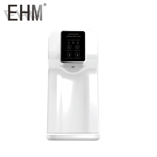 portable home drinking reverse osmosis RO system machine hydrogen-rich water ionizer EHM-839 enlarge
