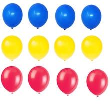 12pcs 10inch Thickening Latex Balloon Matte Balloon Red Blue Yellow latex Balloons Birthday Party Wedding Supplies baloon