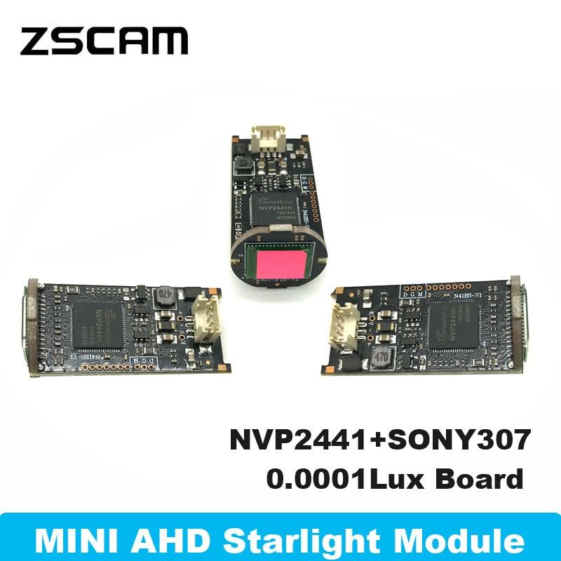 Комплект модуля домашней камеры 4 в 1, 1080P Mini AHD/TVI/CVI/CVBS, звезсветильник 2 Мп, 1/2 лк, цилиндрическая плата камеры UTC, 8 дюймов, чип Sony IMX307