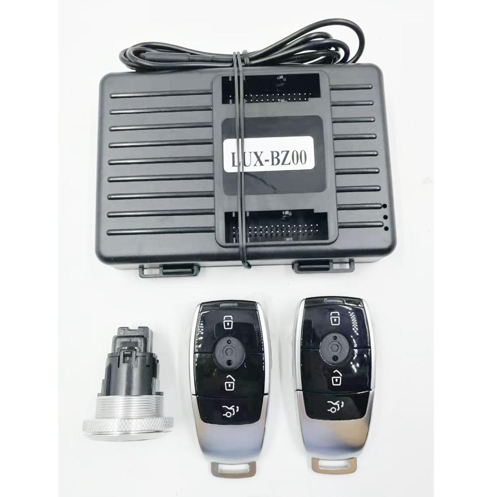لمرسيدس بنز الفئة الخامس W447 W448 إضافة دفع لبدء نظام مشغل عن بُعد ودخول بدون مفتاح جزء السيارة منتج سيارة ملحق السيارة