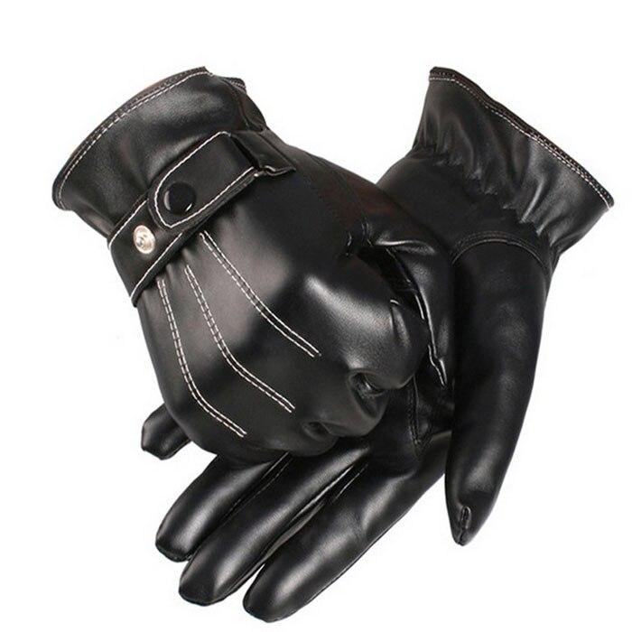 2019 gran oferta guantes de invierno, guantes de cuero para motocicleta, guantes de ciclismo tácticos, resistentes al agua para Motocross