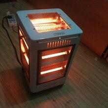 Chauffage électrique au sol Type de chauffage à cinq côtés four à feu réchauffeur domestique bureau pied chaud outil maison Portable climatiseur