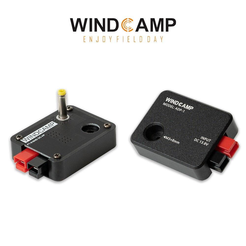 WINDCAMP Anderson PowerPole адаптер разъем питания к штепсельной вилке постоянного тока для YAESU FT-817 FT-817ND FT-818 FT-818ND