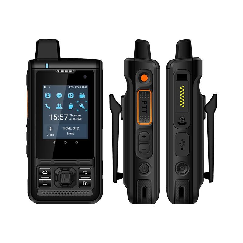 UNIWA B8000 4G IP68 مقاوم للماء GSM العصابات المزدوج سيم الهاتف المحمول أندرويد راديو Zello POC لاسلكي تخاطب