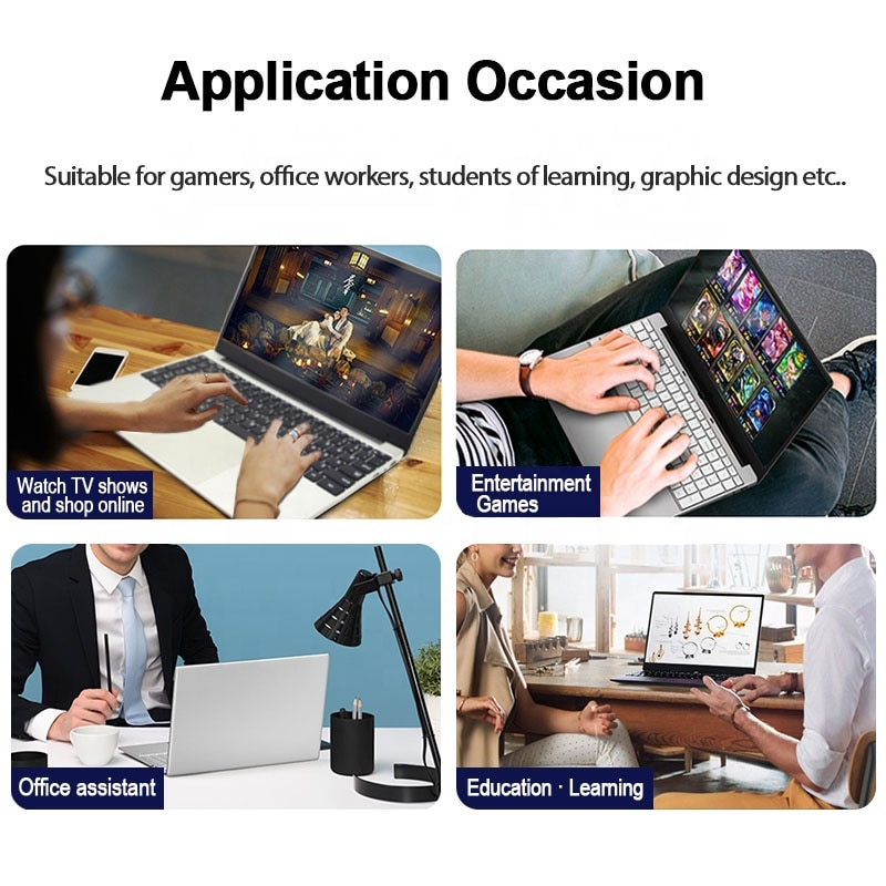 Wholesale Low Price 15.6 Inch Laptops Core i5 Lap Top HD Screen Cheap Laptop Notebook for Online Learning